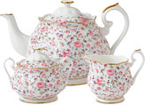 Royal Albert Rose Confetti 3-Piece Tea Set