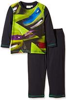 Nickelodeon Boys' Ninja Turtles Long Sleeve Pyjama Set