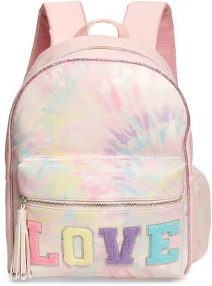 OMG Accessories OMG Large Love Tie Dye Backpack
