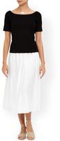 Monsoon Danny Linen Crinkle Skirt