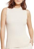 Lauren Ralph Lauren Ribbed Merino Wool Sweater Tank