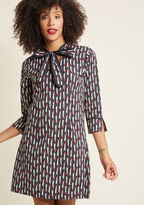 ModCloth Pucker Up! Cotton Shift Dress in XXL