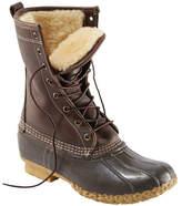 "L.L. Bean Women's Bean Boots by L.L.Bean, 10"" Shearling-Lined"