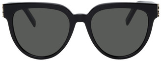 Saint Laurent Black SL M28 Sunglasses