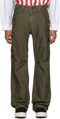 Visvim Green Eiger Sanction Cargo Pants