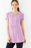 J. Jill Wearever Pleated-Front Tunic