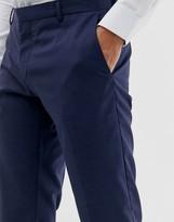 Calvin Klein slim fit suit trouser-Blue