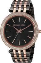 Michael Kors Women's Darci Rose Gold-Tone Watch MK3584