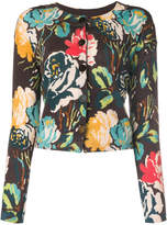 Twin-Set floral embroidered cardigan
