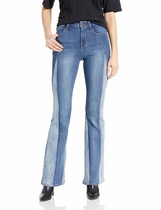 Skinnygirl Women's The High Rise Flare Jean
