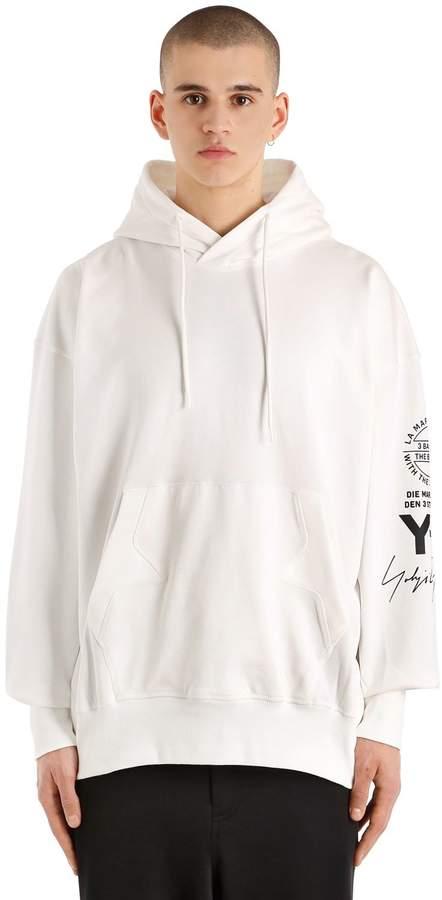 Y-3 Oversize Hooded French Terry Sweatshirt