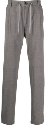 Eleventy Elasticated Drawstring Trousers