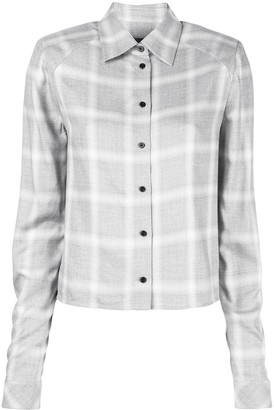 RtA Long-Sleeved Check Shirt