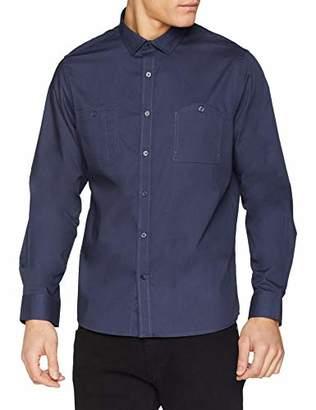 Jacamo Men's Military L/S Shirt REG Regular Fit Classic Long Sleeve Casual Shirt,XX-Large (Manufacturer Size:2XL)