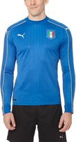 Puma 2016/17 FIGC Italia Home Long Sleeve Replica Jersey