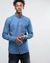 Minimum Barden Slim Denim Shirt Buttondown