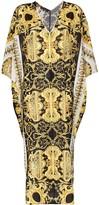 Versace Baroque print maxi kaftan dress