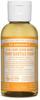 Dr. Bronner's Liquid Castile Soap 59ml - Citrus Orange