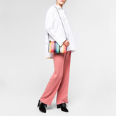 Paul Smith Women's 'Artist Stripe' Calf Leather Pochette