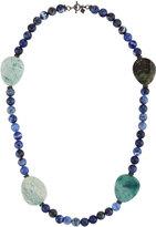 Armenta Long Sodalite, Jasper & Spinel Beaded Necklace