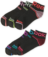 Reebok 6-Pack Quarter Cut Socks