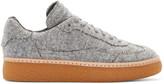 Alexander Wang Grey Felted Eden Sneakers