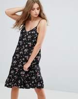 Cotton Candy Floral Midi Dress