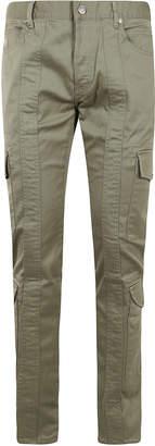 Balmain Slim Gabardine Cargo Pants 15cm One Wash