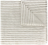 Brunello Cucinelli striped scarf - women - Cashmere/Linen/Flax/Polyester/Polyamide - One Size