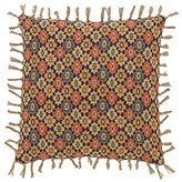 Pine Cone Hill Anatolia Reversible Tasseled Linen Square Feather Pillow