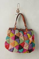 Jamin Puech Woven Mosaic Carryall