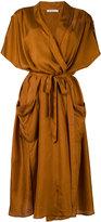 Mes Demoiselles 'Leviathan' wrap dress - women - Silk - 36