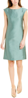 Max Mara Silk-Blend Sheath Dress