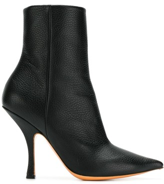 Y/Project pointed ankle boots