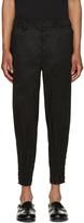 Issey Miyake Black Shibori Trousers