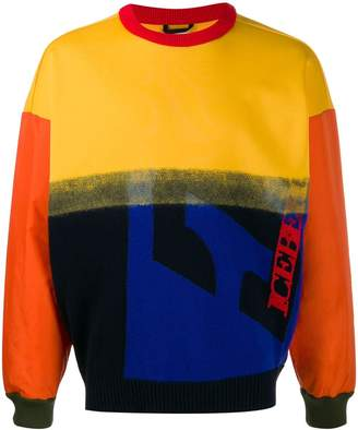 Iceberg color-block knit sweater