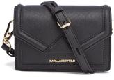 Karl Lagerfeld Women's K/Klassik Mini Cross Body Bag Black