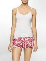 Calvin Klein Womens Holiday Print Pajama Gift Set