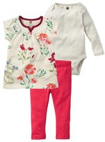 Tea Collection Flores Pintadas Set (Baby)-Multicolor-12-18 Months