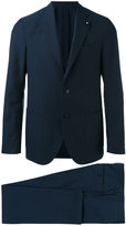 Lardini formal suit - men - Cotton/Cupro/Viscose/Wool - 48