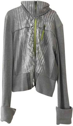 Marc Cain Grey Cotton Knitwear for Women