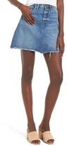 Blank NYC Women's Blanknyc Way Back When Cutoff Denim Skirt