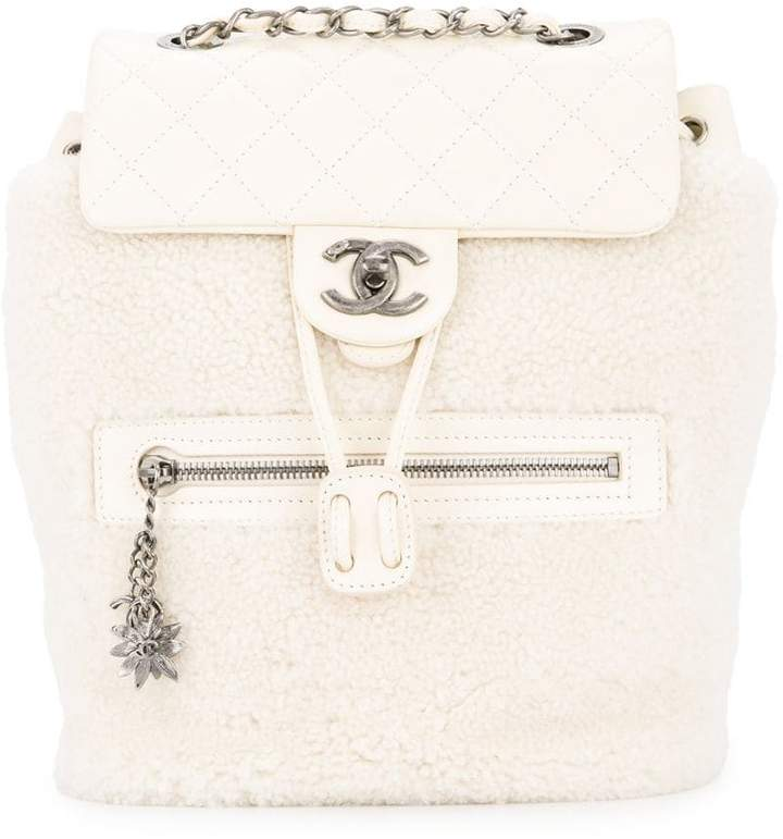 519b6b28be3af4 Chanel White Quilted Leather Handbags - ShopStyle