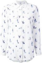 Equipment printed shirt - women - Silk - M