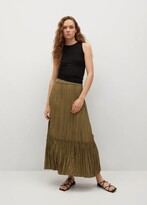 Thumbnail for your product : MANGO Pleated midi skirt