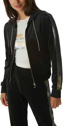 Juicy Couture Anniversary Velour Hooded Zip Track Jacket