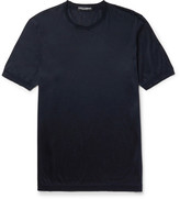 Dolce & Gabbana Slim-Fit Silk T-Shirt