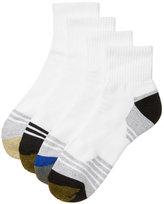 Gold Toe Men's 4-Pack Sport Quarter Socks