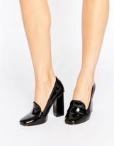 Aldo Colinda Patent Heeled Loafers