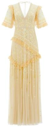 Needle & Thread Earth Garden Emboridered Gown
